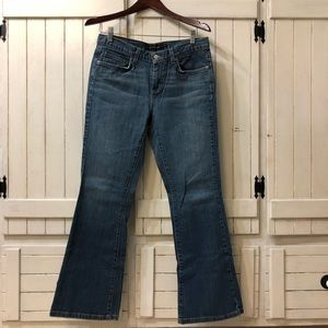 Calvin Klein WB94A22 Flare Jeans size 8